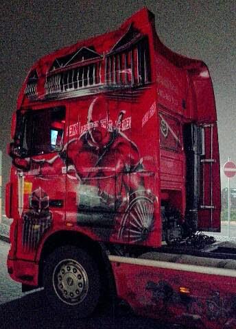 Trucker Kunst