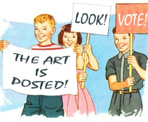 art is posted copy