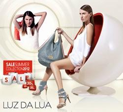 Luz da Lua em Liquidação Verão 2012: Bolsas e sapatos com até 50% off.