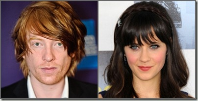 Gleeson & Deschanel