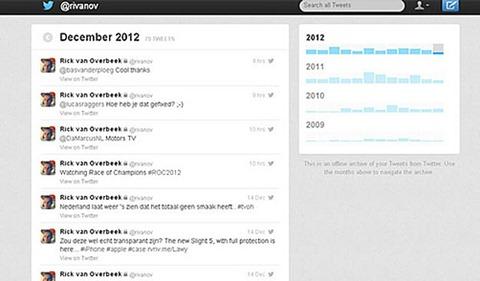 Archivo de tweets