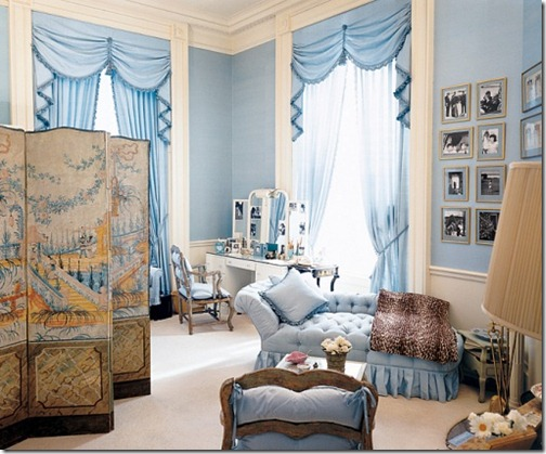 Jackie Kennedy white house dressing room