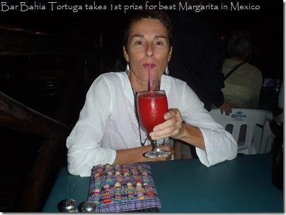 BEST MARGARITAS at the Bahia Tortuga in Isla Mujeres