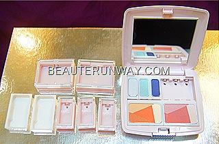FANCL eye and cheek colours in compact case