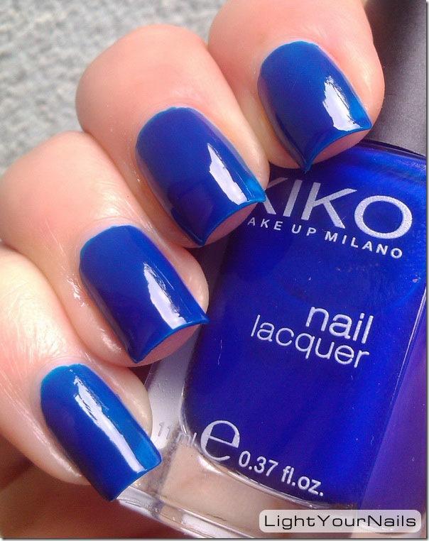 Kiko 335 blu inchiostro ink blu