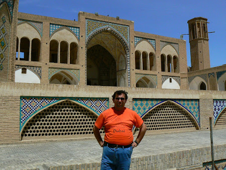 Kashan: visiting the mosque