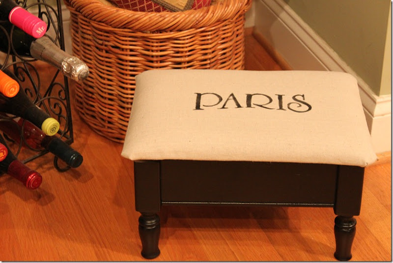 Paris Footstool 003