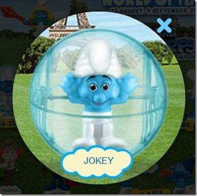 Smurf 2 X Happy Meal - Jokey Smurf