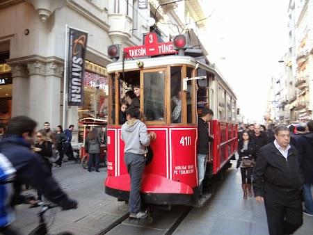 Agatat de tramvai