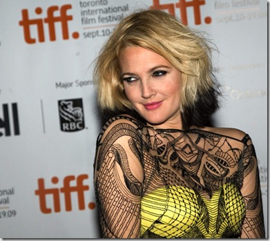ombre drew barrymore