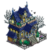 spooky mansion buildable 2014