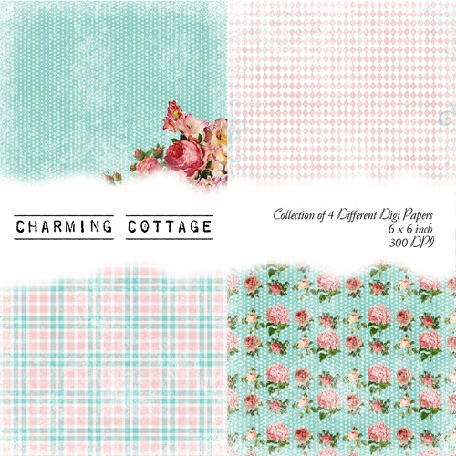 Charming Cottage Front Sheet