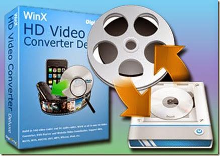 WinX HD Video Converter Deluxe 5.5