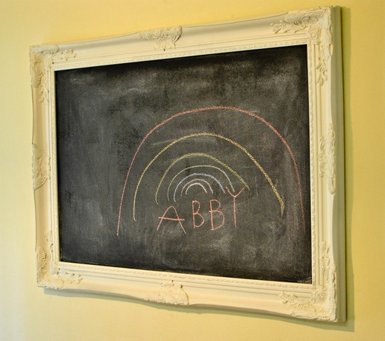diy how to make a chalkboard