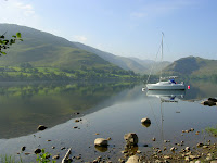 Ullswater in The Lake District.