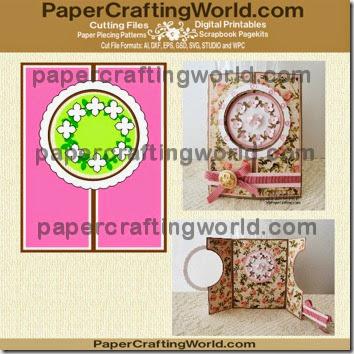 card circle cut out ppr-350