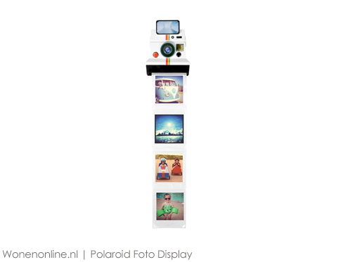 Polaroid-Foto-Display