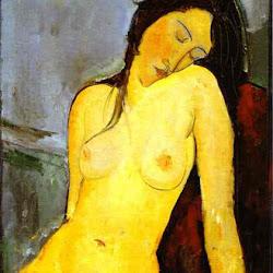 Modigliani, Seated Nude 1916.jpg