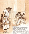 Nehemiah before King Artaxerxes