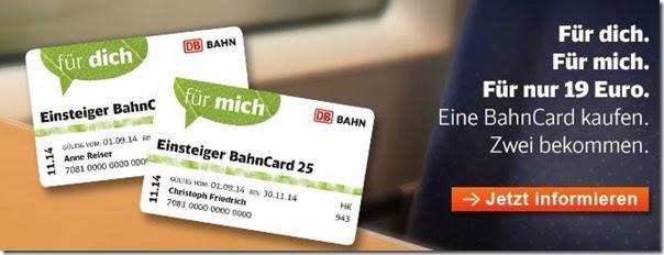 EinsteigerBahnCard