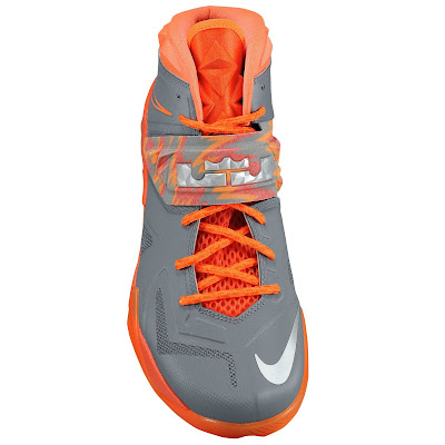 nike zoom soldier 7 gr black orange 1 03 eastbay LEBRONs Nike Zoom Soldier VII $135 Pack Available at Eastbay