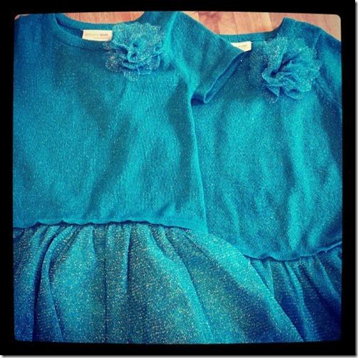 twin dresses