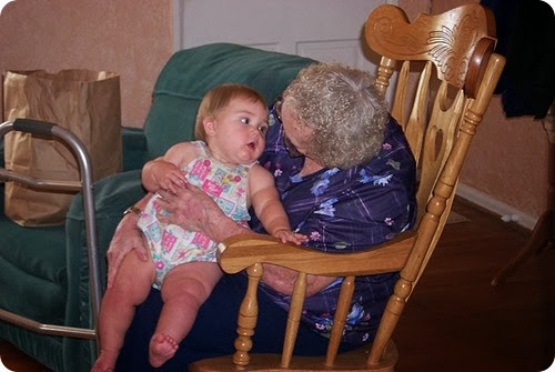 great grandma easter and maddie