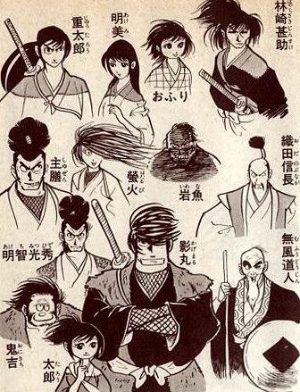 Band of Ninja - Character List