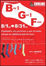 SVOLME 1-For-1 Super Socks Promotion 2013 Discounts Offer Shopping EverydayOnSales