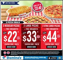 Domino's Pizza Self Collect Promotion 2013 Deals Offer Shopping EverydayOnSales