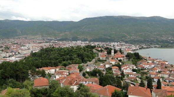 Vista da Fortaleza de Samuil