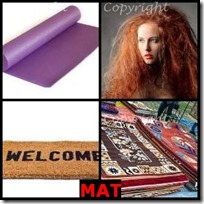 MAT- 4 Pics 1 Word Answers 3 Letters
