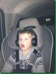 MJ in my new car
