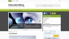 Educationblog blogger template 225x128