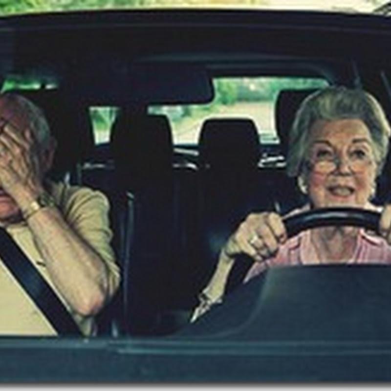"""Un soț care își învață soția să conducă mașina e deja în drum spre """"divorț""""."""