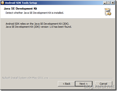 Android IDE: Install Android SDK
