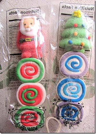 marshmallow santa