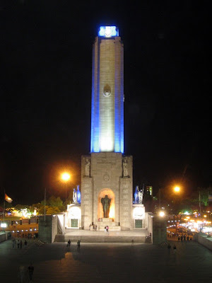 the National Monument in Rosario