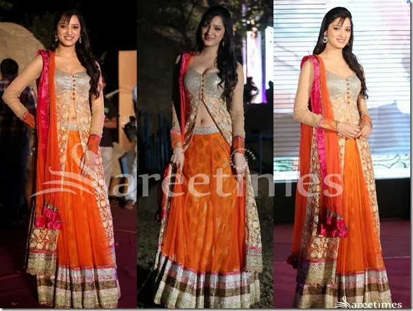 Richa_Panai_Orange_Lehenga