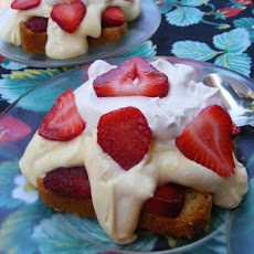 Strawberry Vanilla Pudding Shortcake