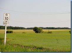 2145 Manitoba Hwy 10 North sign