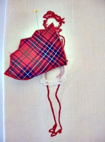 Sara #6a Plaid Peekaboo_the peek