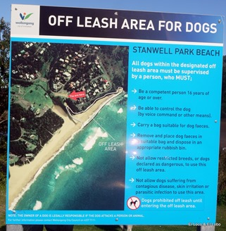 Off leash area