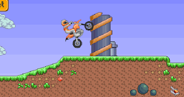Screenshot of Crazy Bike Mania – Race Game