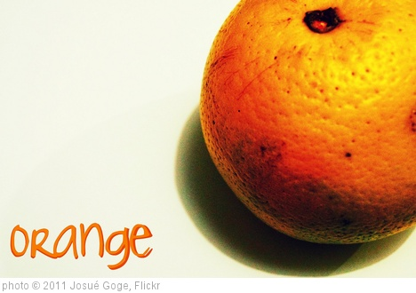 'Orange' photo (c) 2011, Josu�?�© Goge - license: http://creativecommons.org/licenses/by/2.0/