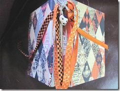 Halloween never ending journal 2011 4 completed book signatures ribbon and skull