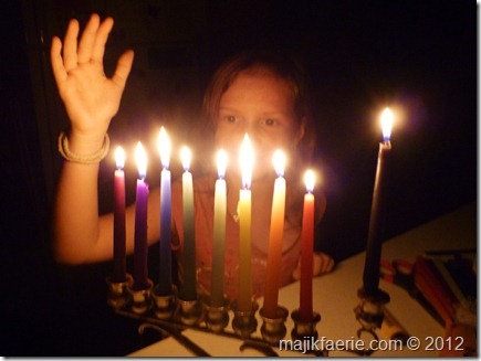 33 channukah 8th candle