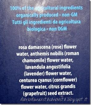 Inlight floral tonico INCI