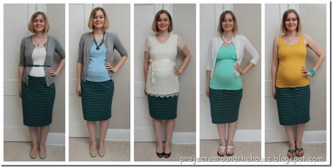 One-Piece-Many-Ways-Blue-Green-Striped-Skirt