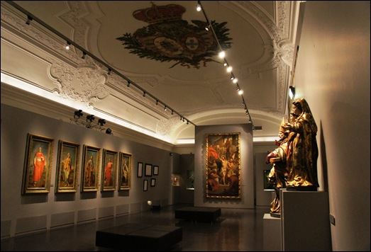 Gloria Ishizaka - museu de são roque - sala do museu - outra perspectiva